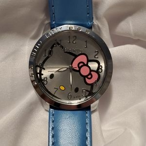 New Hello Kitty Watch with Blue Band